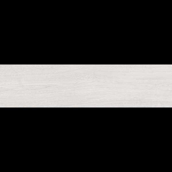 Pavimento LANDES Blanco 22,5x90cm madera porcelánica