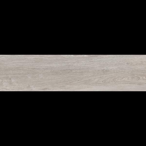 Pavimento LANDES Gris 22,5x90cm madera porcelánica