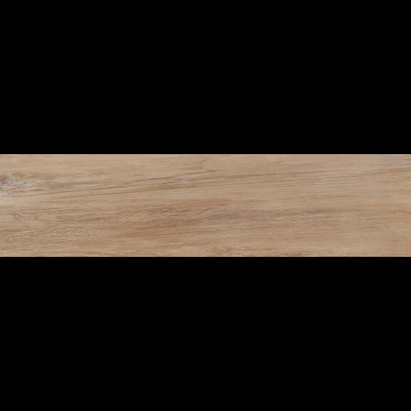 Pavimento LANDES Miel 22,5x90cm madera porcelánica