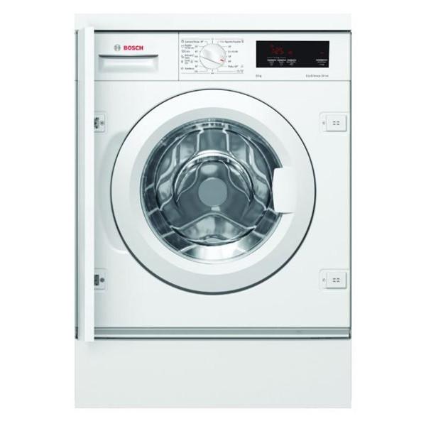 Lavadora integrable EcoSilence color blanco