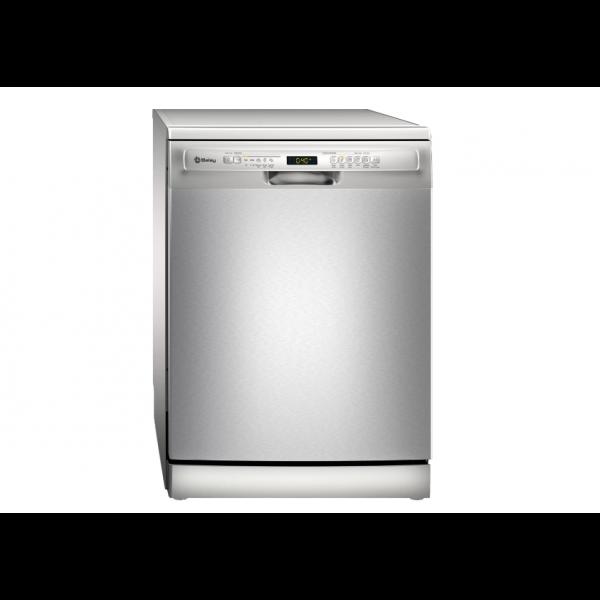 Lavavajillas premium 9 servicios 45x81,5cm acabado negro y acero Balay