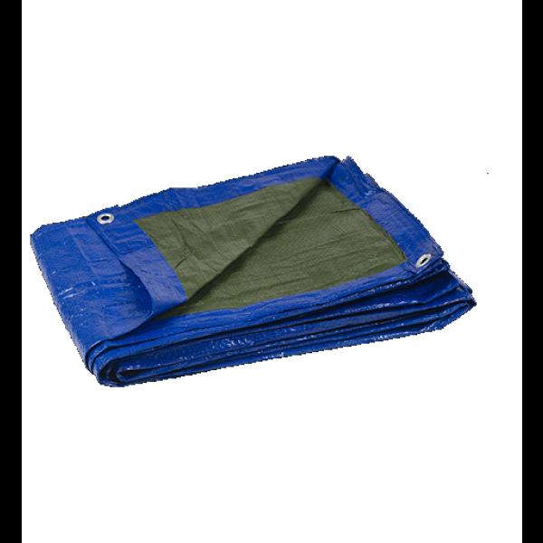 Lona impermeable azul