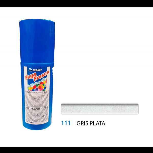 FUGA FRESCA Gris Plata 111 reparación color juntas de baldosas 160gr