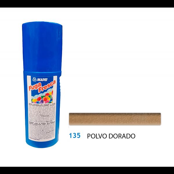 FUGA FRESCA Polvo Dorado 135 reparación color juntas de baldosas 160gr