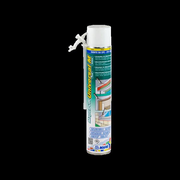 MAPEPUR UNIVERSAL FOAM M espuma de poliuretano autoexpandible para rellenar, aislante termico-acústico. 750ML