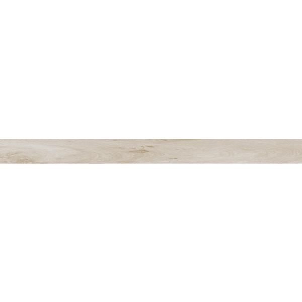 Rodapié madera porcelanica canto recto Milena Haya 8x120cm