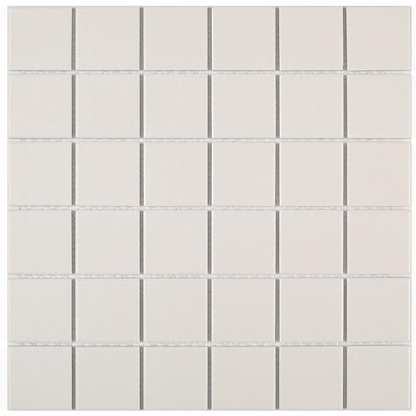 Mosaico enmallado DOVER WHITE 30x30cm