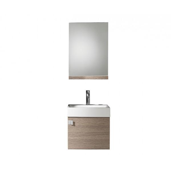 Conjunto mueble de baño PARIS lavabo y espejo Varios Colores B&K
