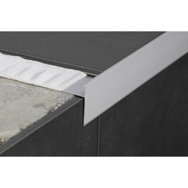Perfil de aluminio protector embellecedor aluminio 2,5M