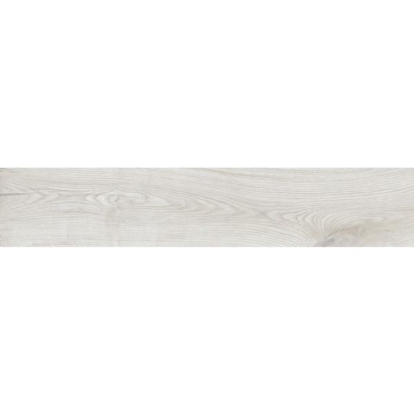 Pavimento OLAND WHITE 23x120 madera porcelanica