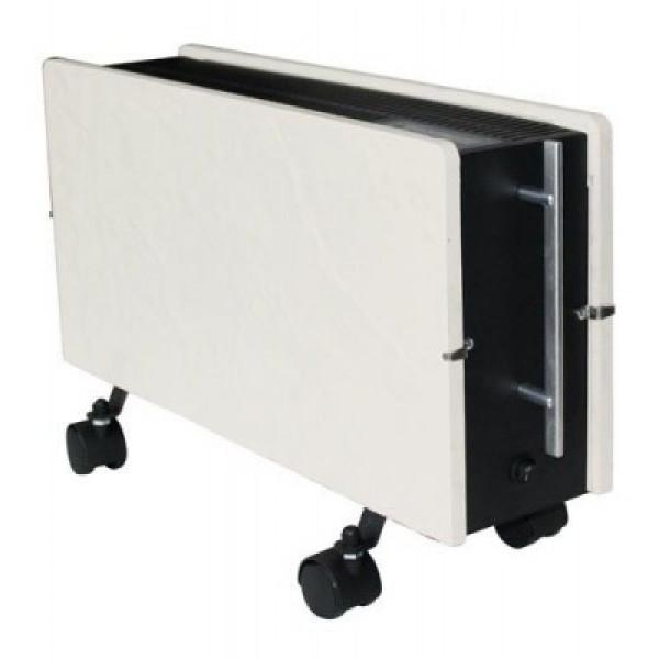 Radiador eléctrico portatil de diseño Optimus 800/1600 w Blanco silicio 50,5x34x13 cm