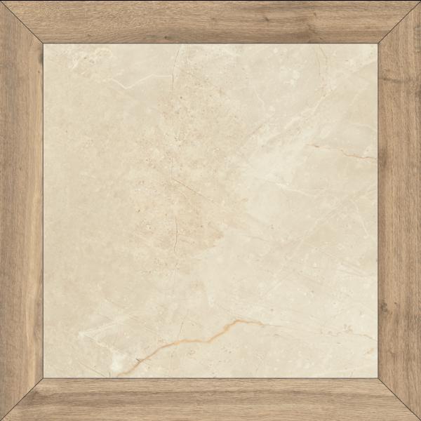 Pavimento LOSANGA Milord Natural 90x90cm porcelánico rectificado pulido Fanal