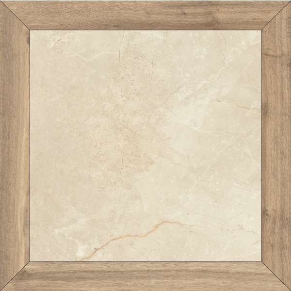 Pavimento LOSANGA Milord Natural 90x90cm porcelánico rectificado Fanal