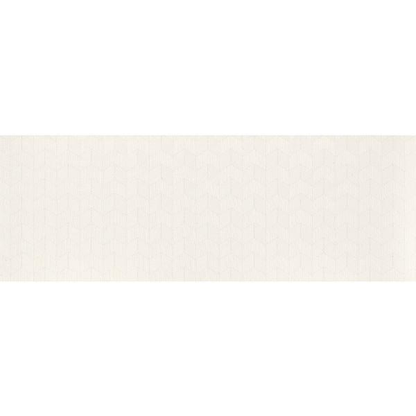 Revestimiento PEARL CHEVRON WHITE 31,6X90CM mate pasta blanca luxe+rectificado Fanal