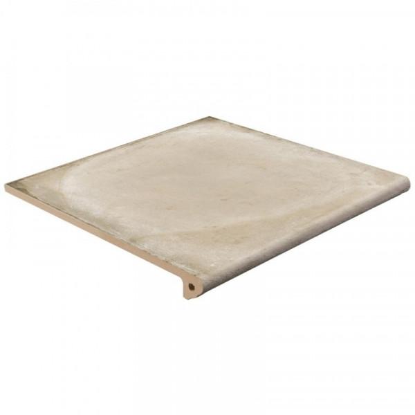 Peldaño Fiorentino Alhamar blanco C3 33x33x3 cm pasta blanca antideslizante EXAGRES