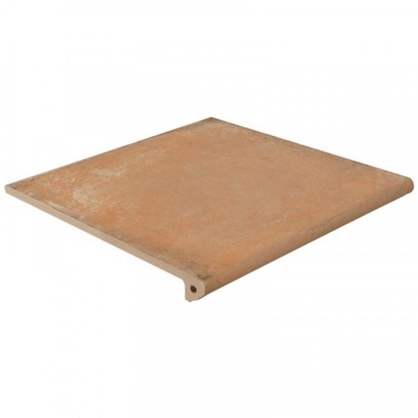 Peldaño Fiorentino Alhamar Salmón C3 33x33x3 cm pasta blanca antideslizante EXAGRES