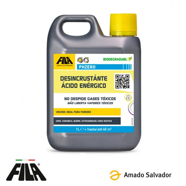 FILA PHZERO Desincrustante ácido denso (Quitacementos) 1L