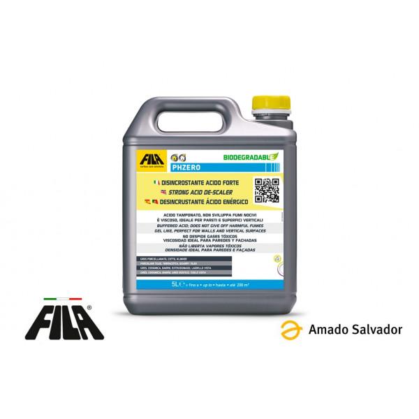 FILA PHZERO Desincrustante ácido denso (Quitacementos) 5L
