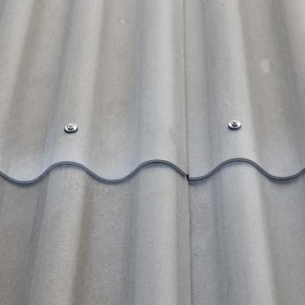 Placa Granonda de fibrocemento Natural gris cemento  200 X 110