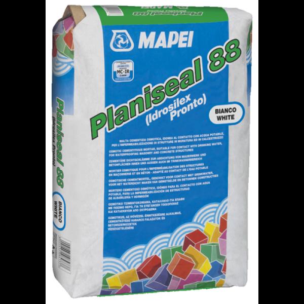 PLANISEAL 88 (ex IDROSILEX PRONTO) hidrofugante mortero cementoso osmótico para impermeabilizar 25Kg