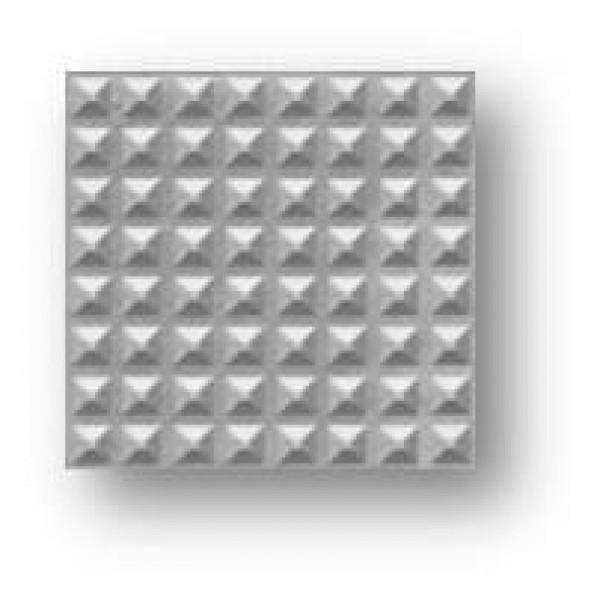 Baldosa hidráulica de hormigón punta diamante 20x20x3cm gris