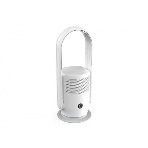 Ventilador de piso y purificador de aire Puremex 1 blanco