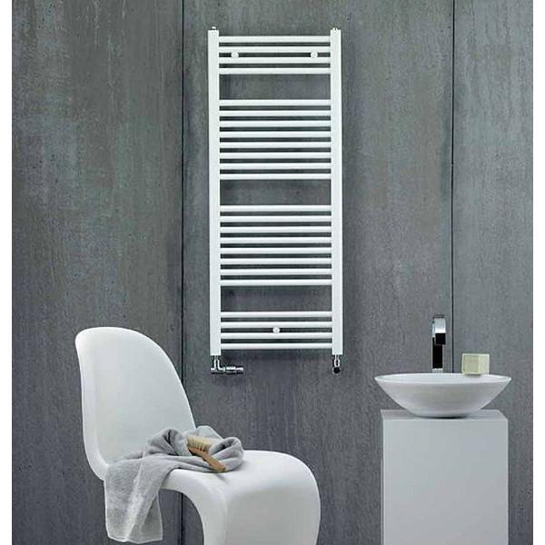 Radiador toallero de agua Blanco AURA 1217X500MM Zehnder Swiss