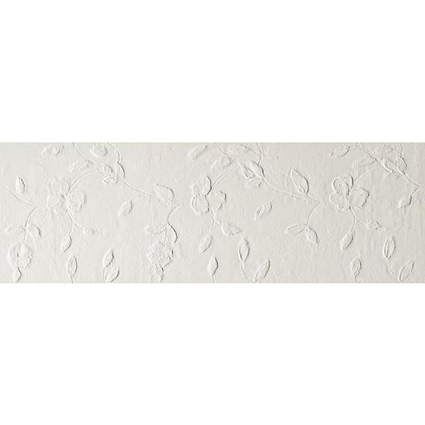Revestimiento pasta blanca LUMINA STONE Flower White mate 30x91,5cm Fap Ceramiche