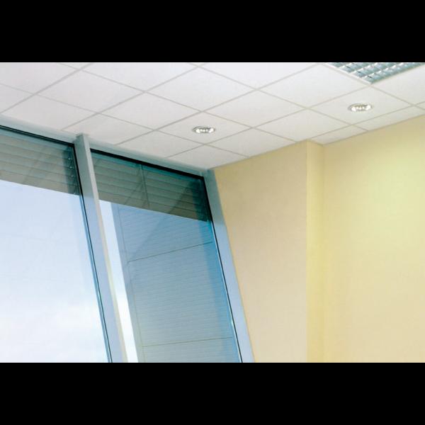 Panel rockfon sofit panel acustico para techo registrable 60x60 cm (Cara visible en blanco)