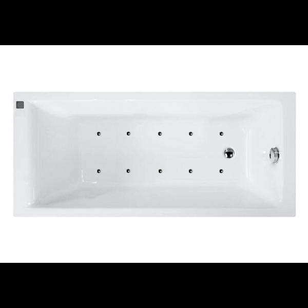 Bañera acrílica bali 180x80 cm con hidromasaje B Confort