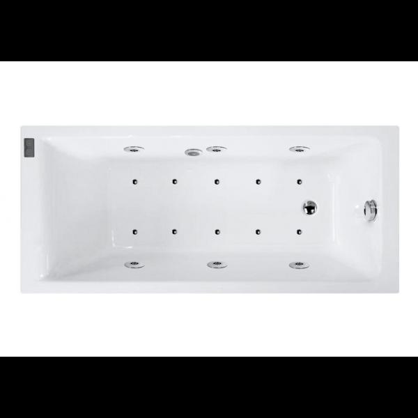 Bañera acrílica bali 170x75 cm con hidromasaje DS Confort