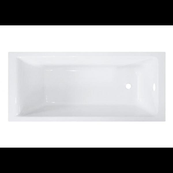 Bañera acrílica bali 160x70 cm sin hidromasaje