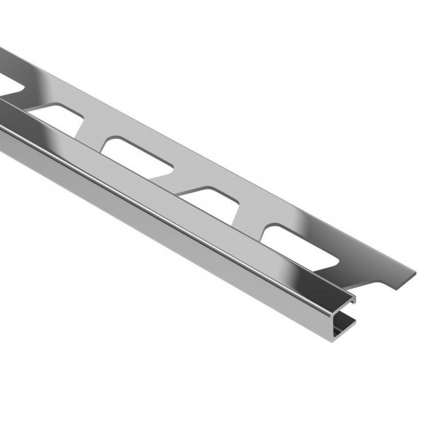 QUADEC-E Cantonera de acero inoxidable altura 8 mm Q 80 E