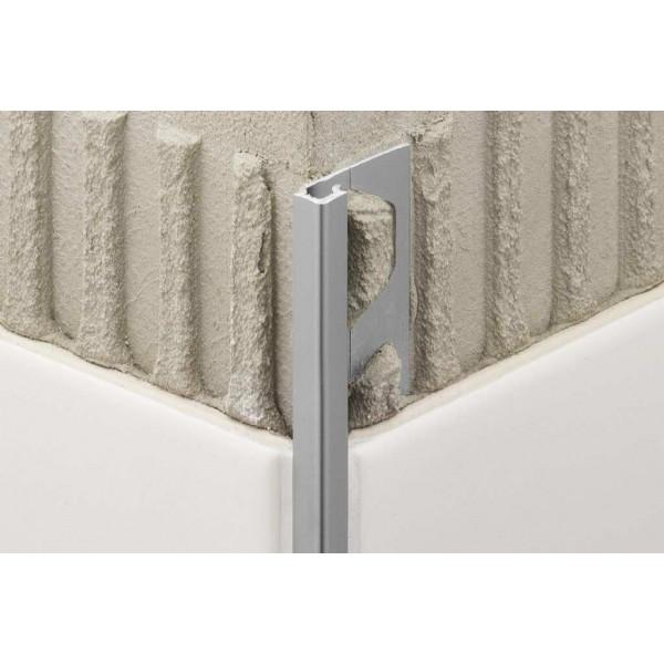 QUADEC-A - Cantoneras de aluminio Anodizado - Varios acabados