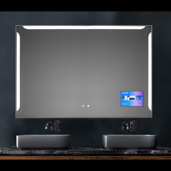 Espejo de baño Brises 120x80cm iluminación y screen mirror