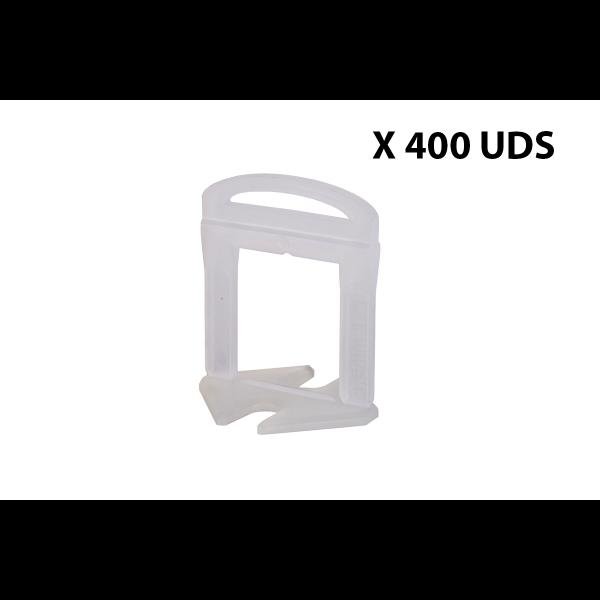 BRIDA 1,5 MM - 400 UDS - Delta level system Rubi