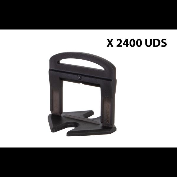 BRIDA 2 MM - 2400 UDS - Delta level system Rubi