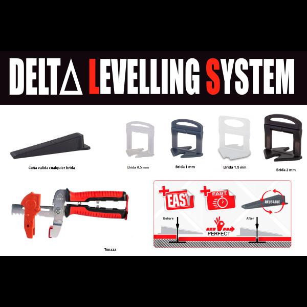 Sistema de nivelación DELTA level system Rubi