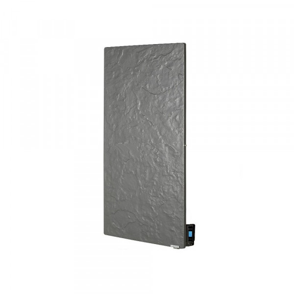 Radiador eléctrico de diseño Smart Pro rectangular vertical 800w Pizarra Azabache