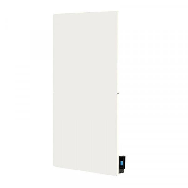 Radiador eléctrico de diseño Smart Pro rectangular vertical 800w Blanco silicio