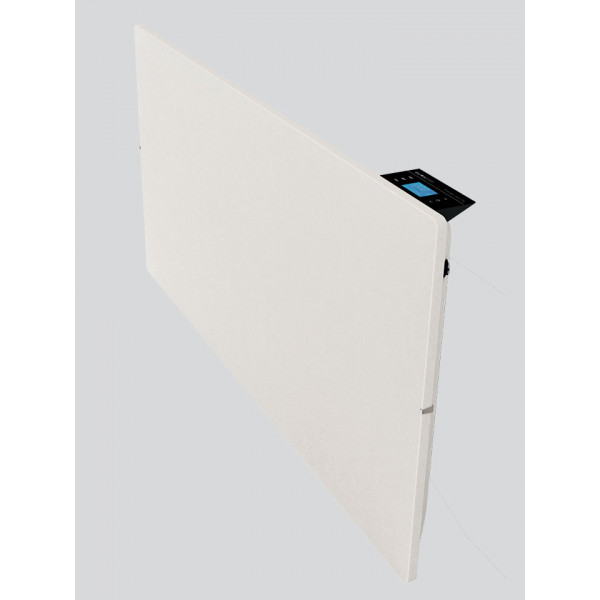 Radiador eléctrico de diseño Smart Pro cuadrado 500w  Blanco Silicio