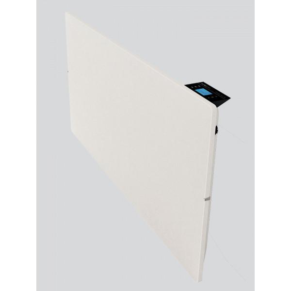 Radiador eléctrico de diseño Smart Pro cuadrado 800w Blanco silicio