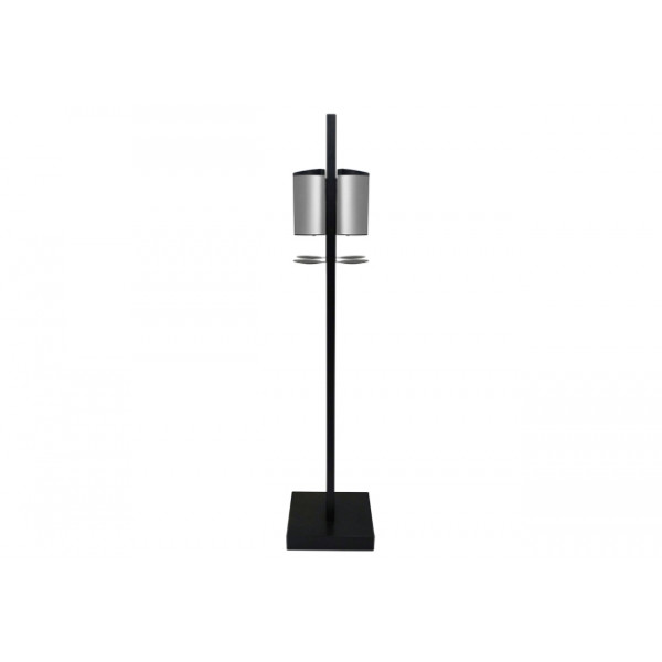 Soporte suelo Premium Cuatruple dispensador automatico de gel hidroalcoholico
