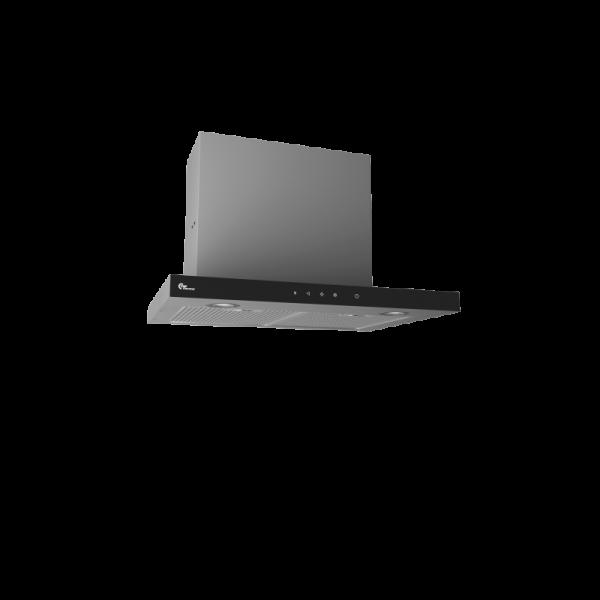 Campana extractora encastrable SUPER SILENT GT Negro/Inox 60 cm Thermex