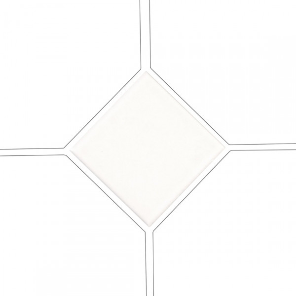 Taco OCTAGON BLANCO MATE 4,6x4,6 cm Equipe Cerámicas