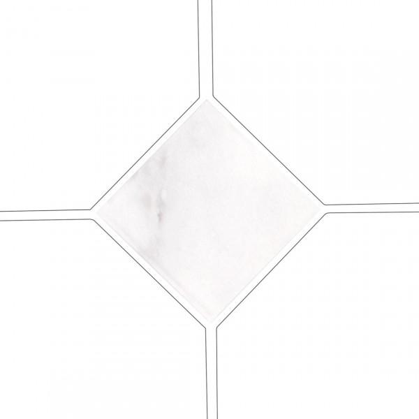 Taco OCTAGON MARMOL BLANCO 4,6x4,6 cm Equipe Cerámicas