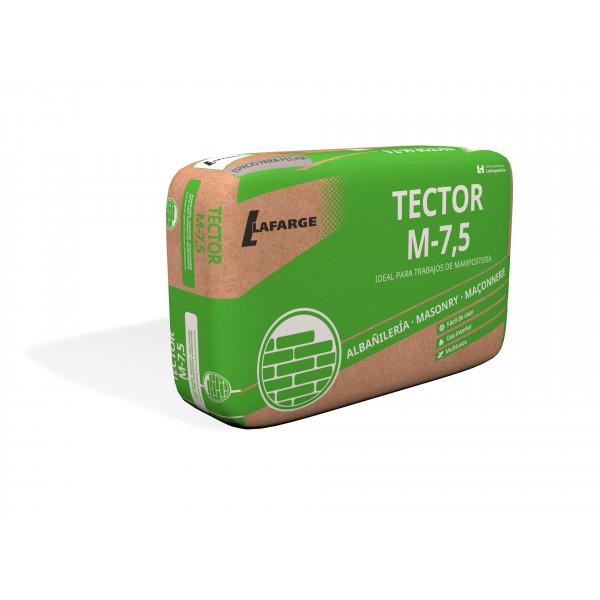 Mortero Tector M-7,5HF Blanco Saco 25kg de albañileria LAFARGE