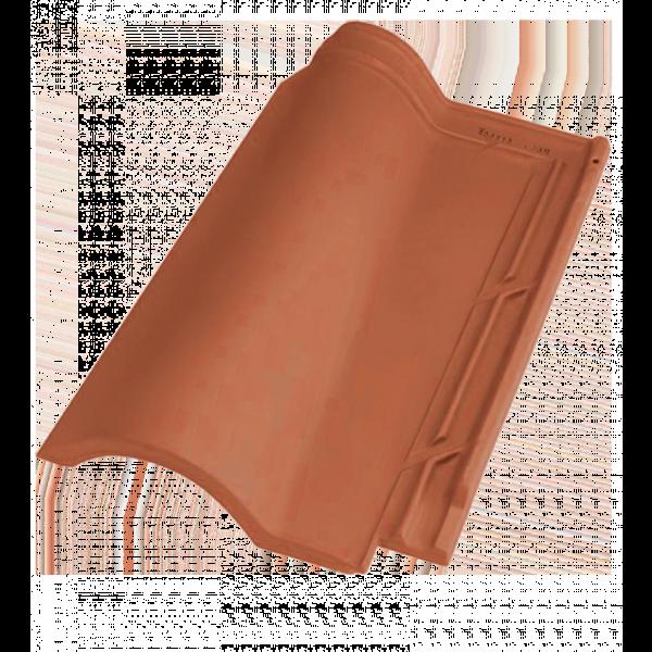 Teja mixta TB-12 43.9x26cm blanca envejecida