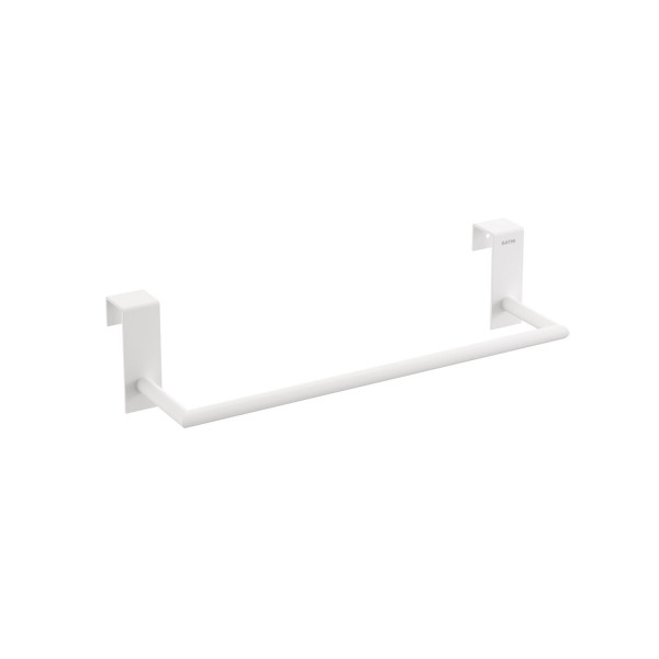 Toallero 28 cm para mueble Stick blanco mate BATH+ 2766566