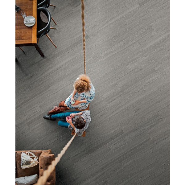 Pavimento colección TREVERKVIEW imitación madera porcelánica rectificada varios acabados MARAZZI